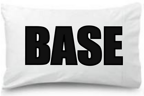 BASE CHEER Standard Pillowcase