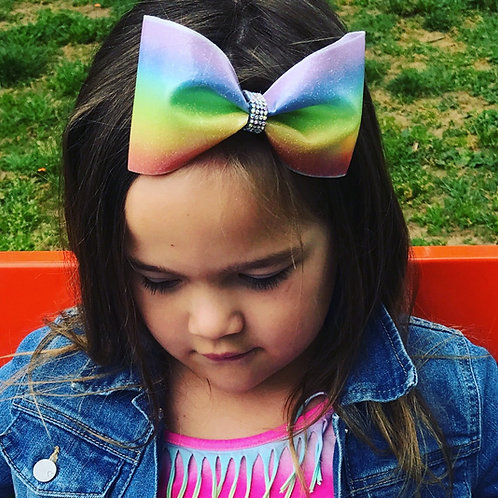 Rainbow Glitter H2O Tailless Water Bow