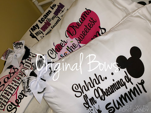 Standard Pillow Cases Custom Designs