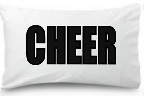 CHEER Standard Pillowcase