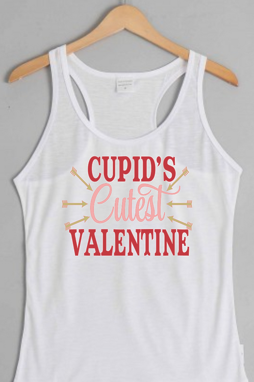 Cupid's Cutest Valentine Tank Top