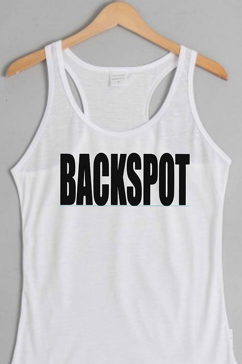 White BACKSPOT Tank Top