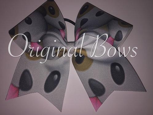 Puppies Grosgrain Cheer Dance Bow