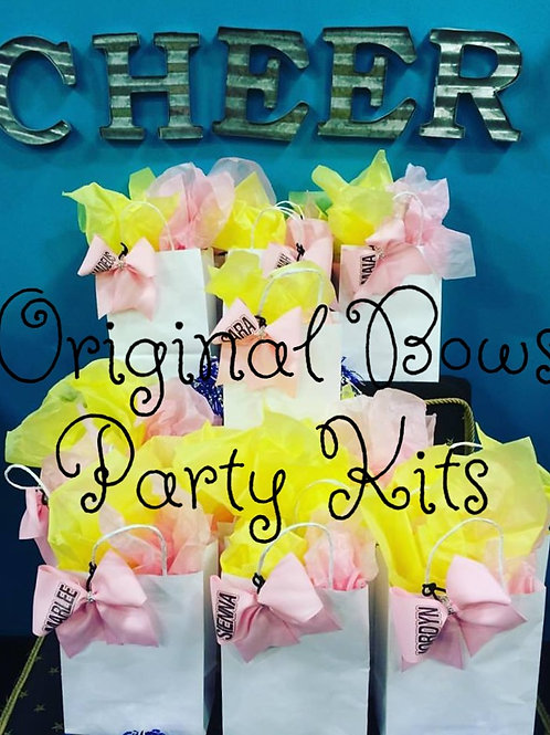 Cheer Themed Loot Gift Bags for Parties