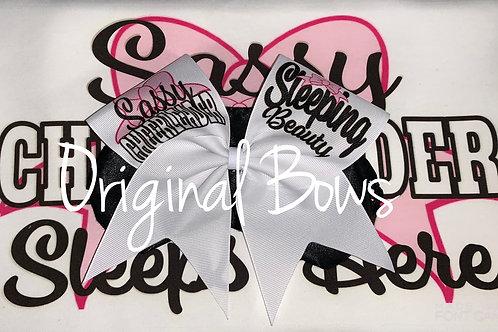 Sassy Cheerleader Sleeping Beauty Sleep Mask
