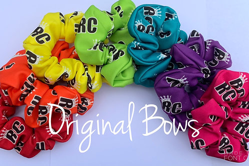 Custom Logo hair scrunchies