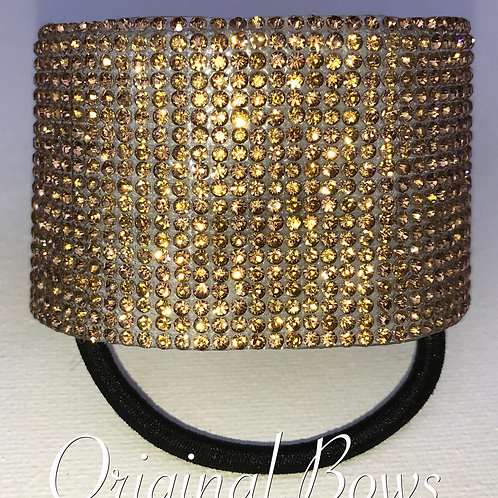 Gold pony cuff hair Accessory
