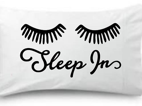 Sleep Ins Lashes Standard Pillowcase