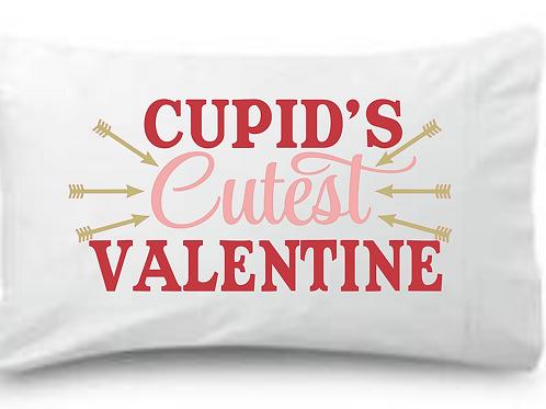 CUPID's Cutest VALENTINE Standard Pillowcase