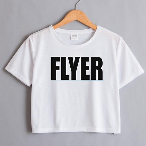 FLYER Cropped Top