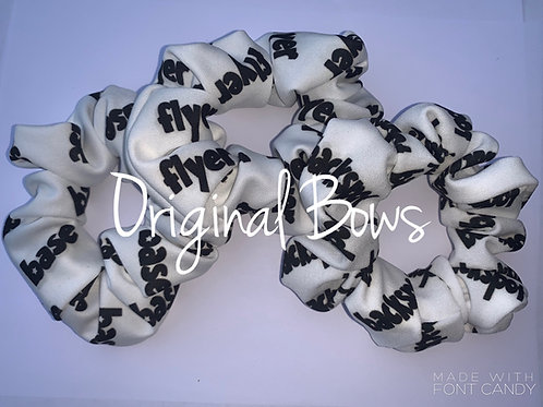 Flyer Base Backspot Stunt Group Scrunchie
