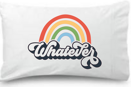 Whatever Rainbow Standard Pillowcase