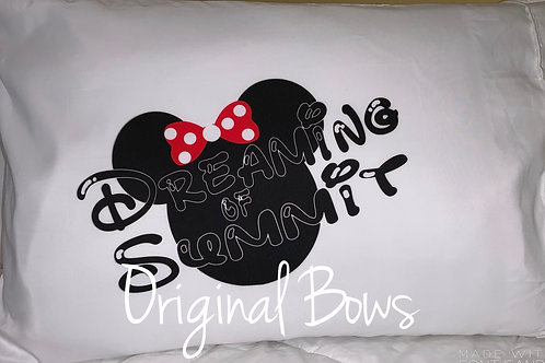 Dreaming of Summit Pillow Case