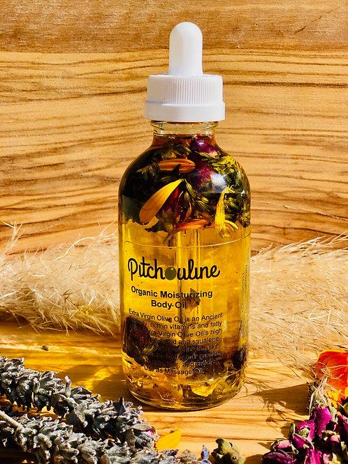 Organic Moisturizing Hair and Body Oil