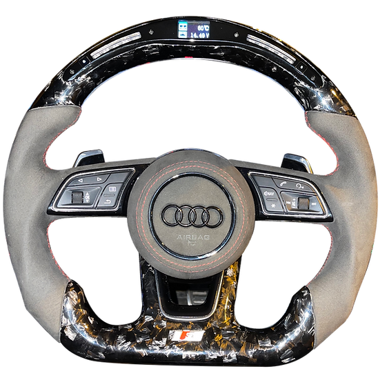 AUDI A/S/RS 3/4/5 2016+ CARBON STEERING WHEEL