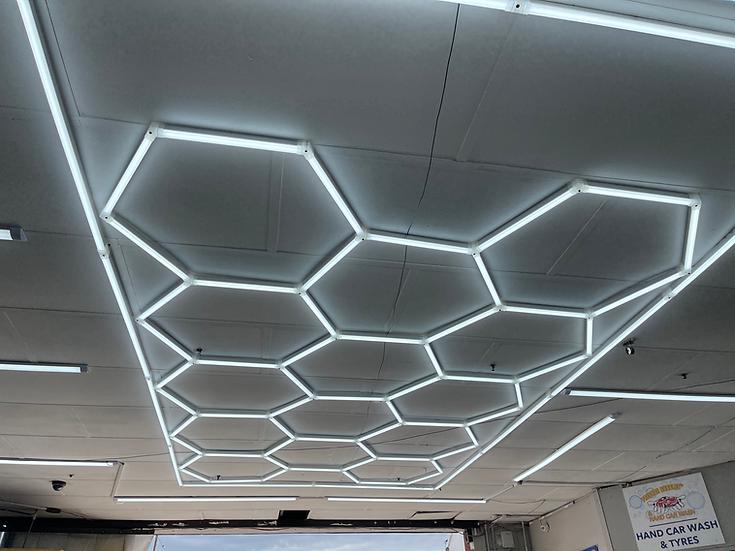 Garage LED Hex Lights