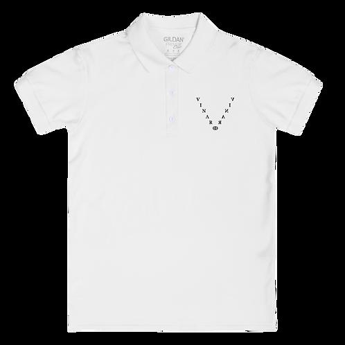 Vinaro Women's Embroidered Polo Shirt
