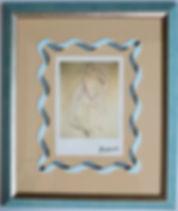 パブロ・ピカソ  「座っているダンサー(オルガ・ピカソ)」  /巽英里アトリエの作品