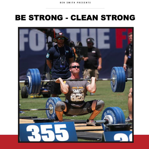 Be Strong - Clean Strong