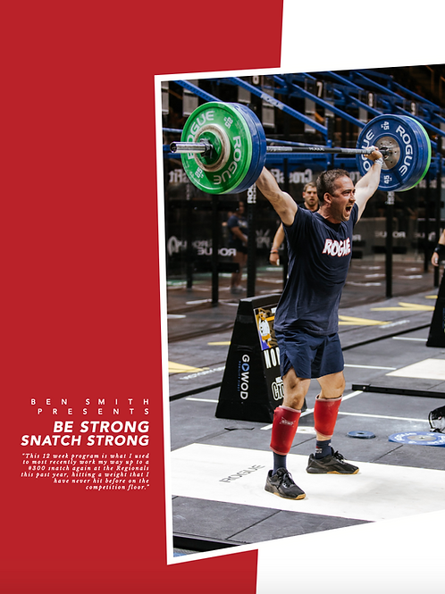 Be Strong Snatch Strong