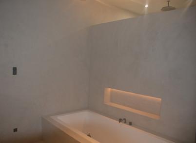 Badkamer behandeld met Dichtslamme