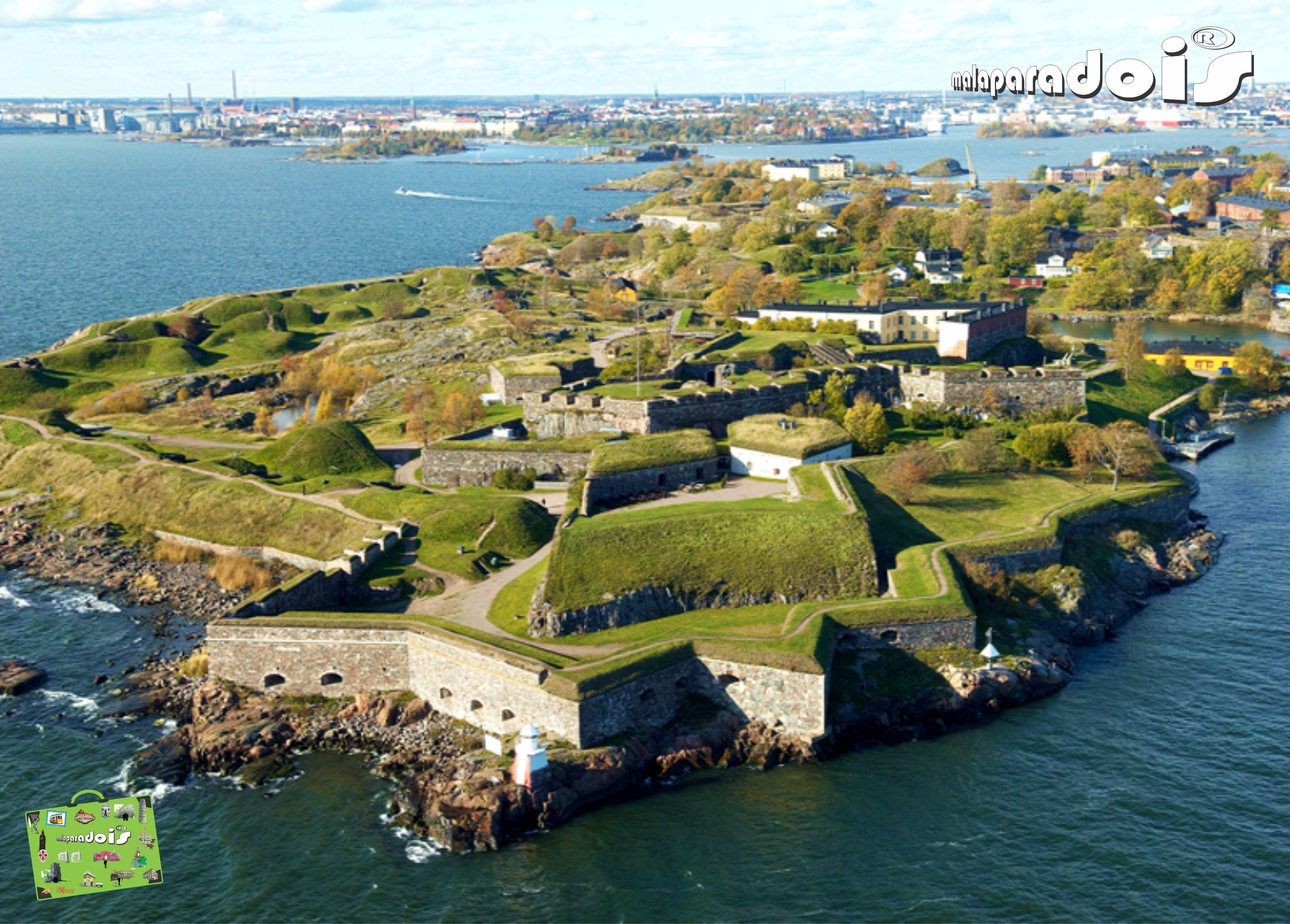 Fortaleza maritima de Suomenlinna