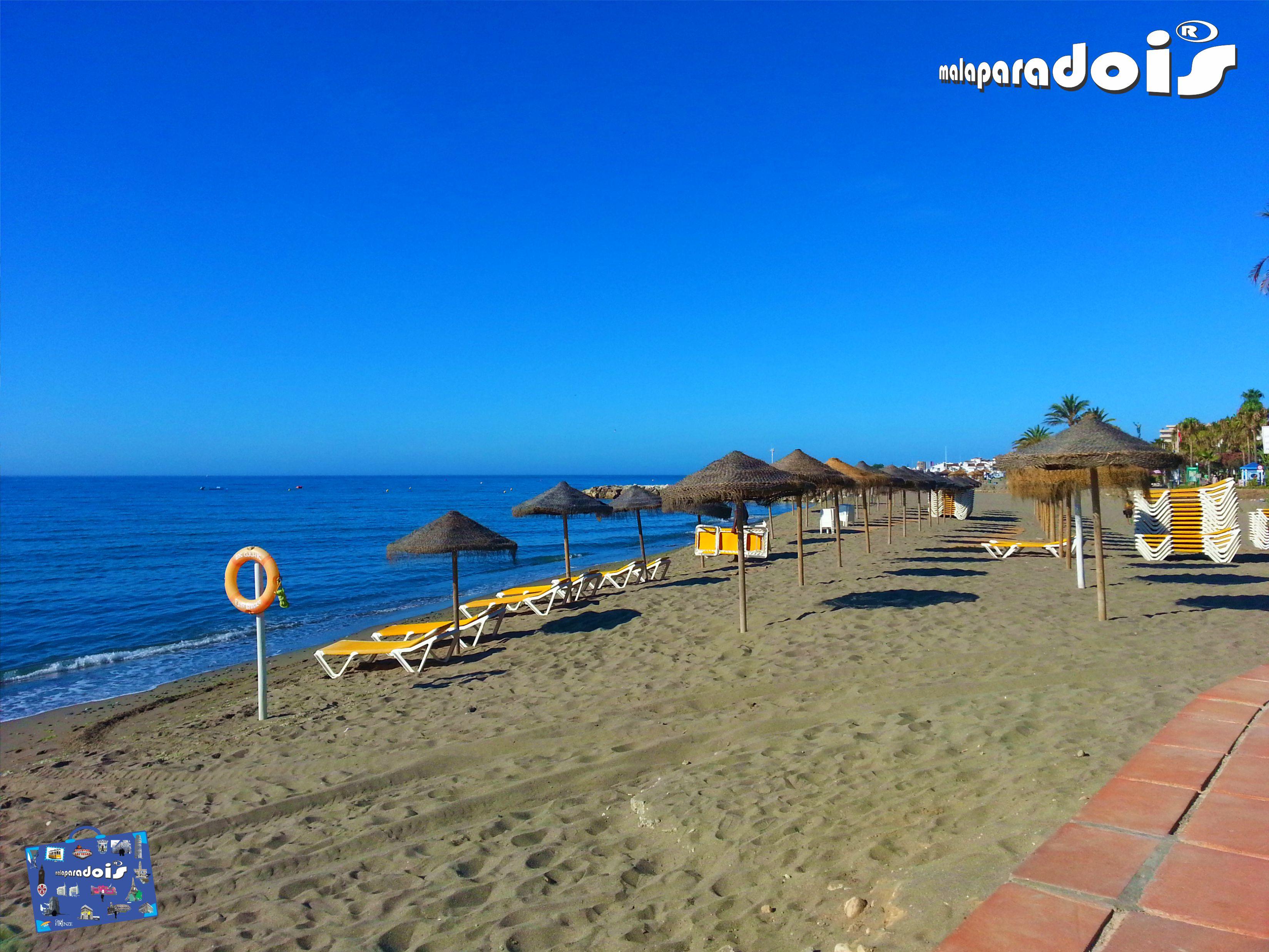 Playa de Puerto Banús
