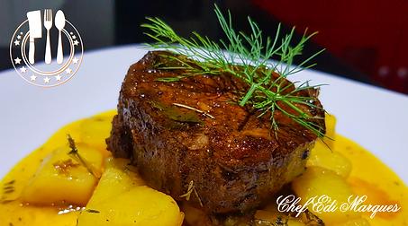 Chef Edi Marques - Mignon & Batata Doce
