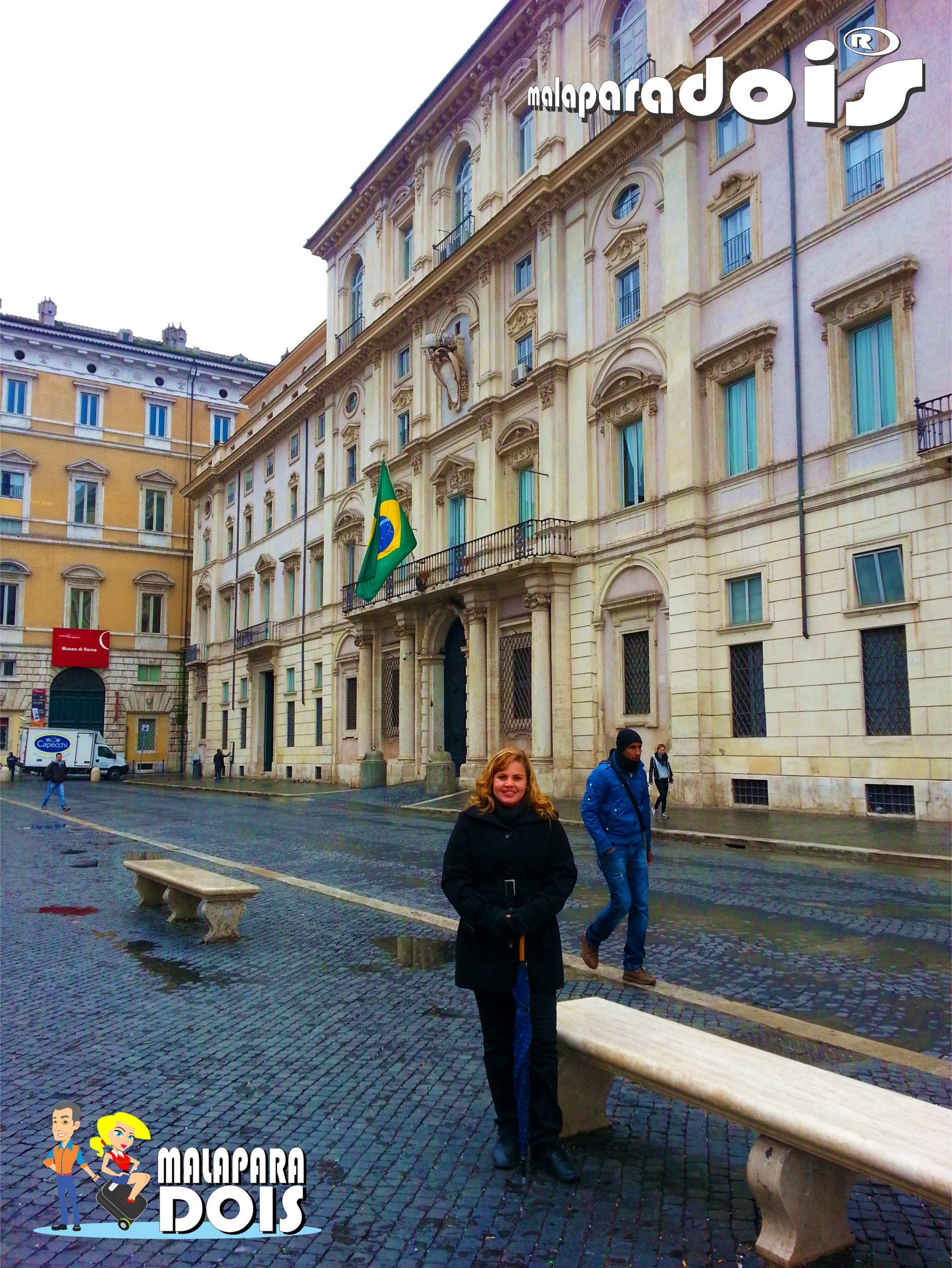 Piazza Navona - Embaixada Brasileira