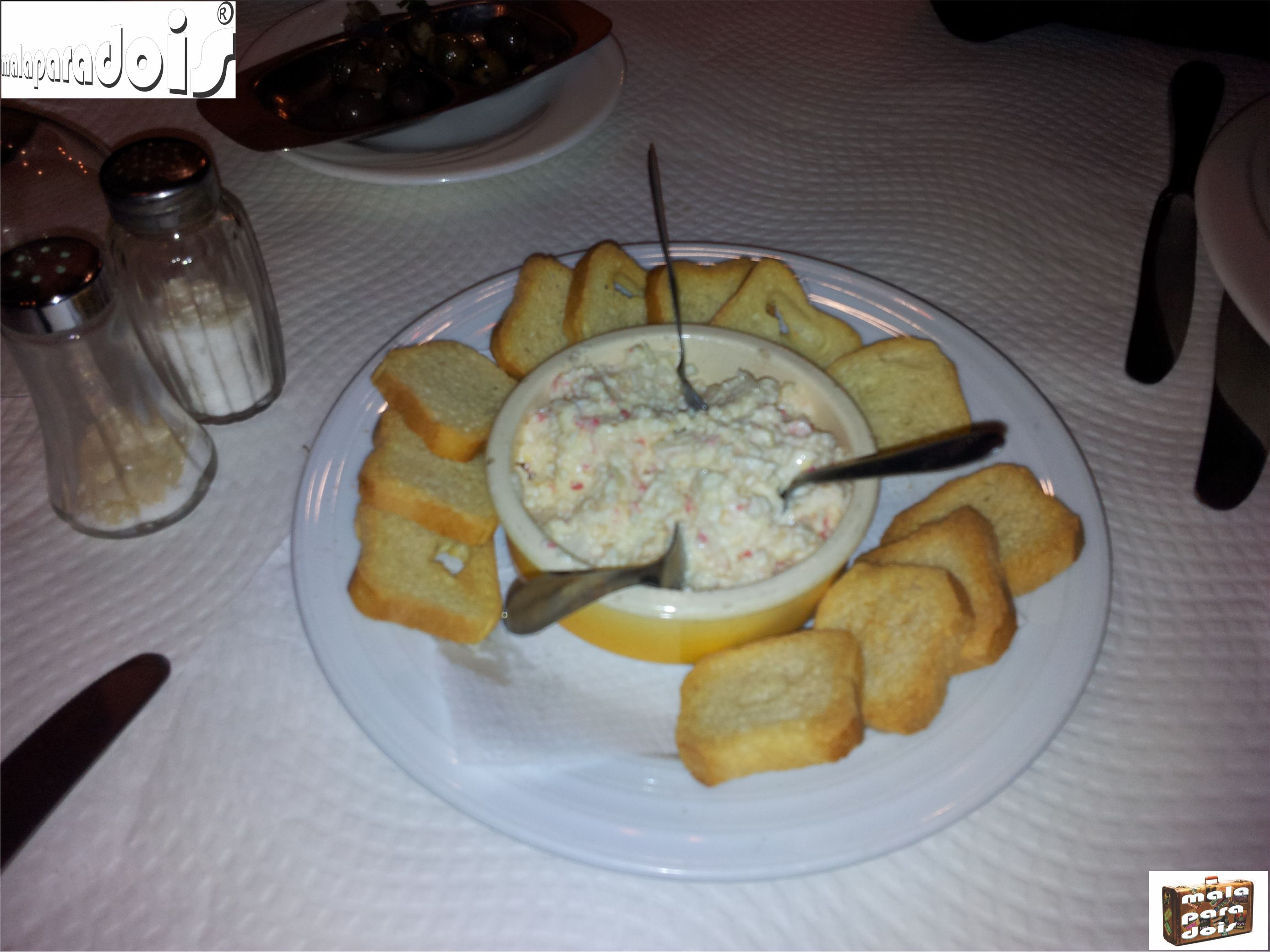 Patê de Sapateira - Pate crab