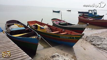 Barcos na Lagoa de Araruama