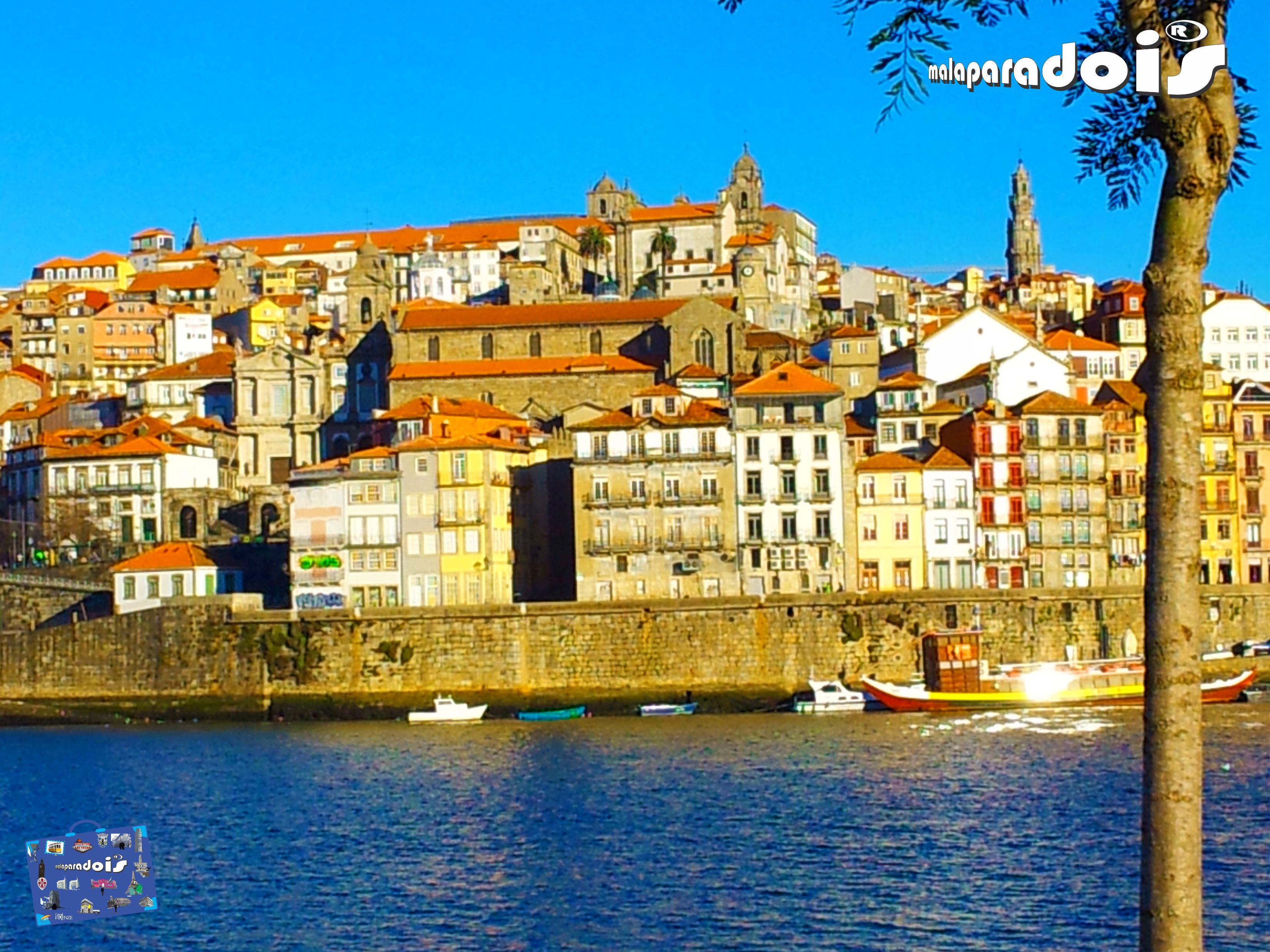 O Porto visto de Gaia