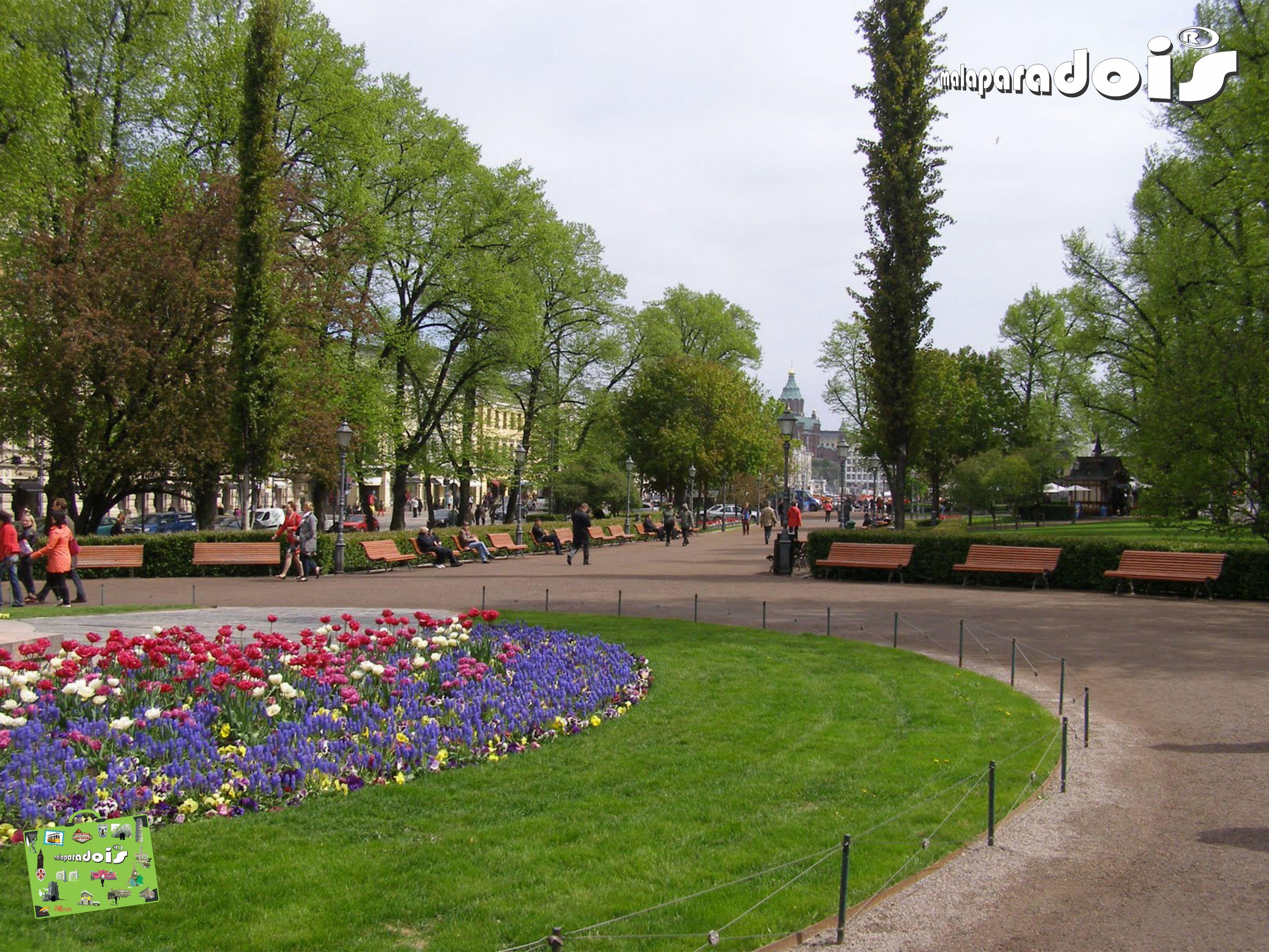 Helsinki Parque Esplanadi