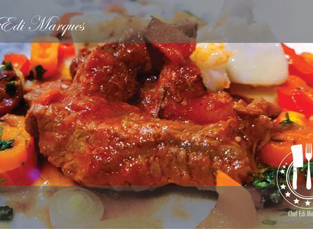 Escabeche de Bife da Vazia – Chef Edi Marques