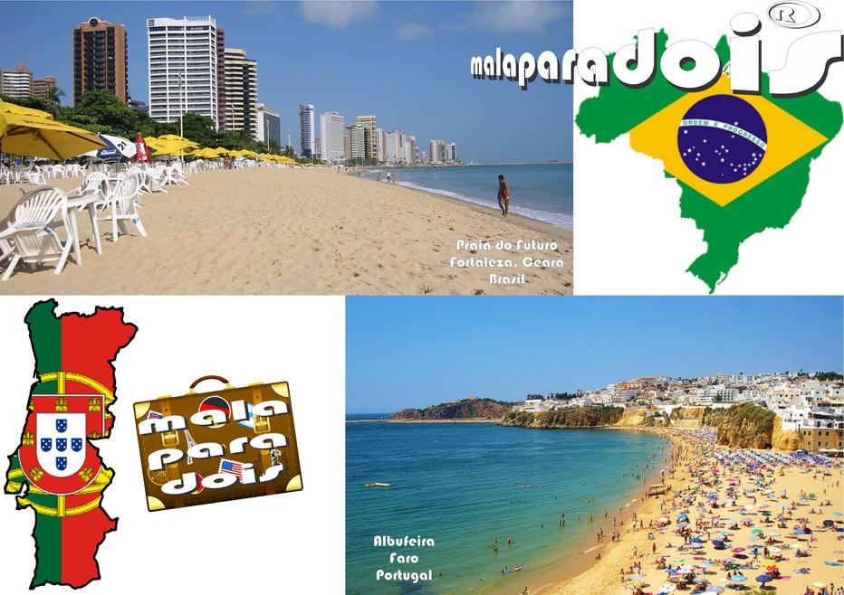 Viajar pelo Brasil ou pelo Exterior?