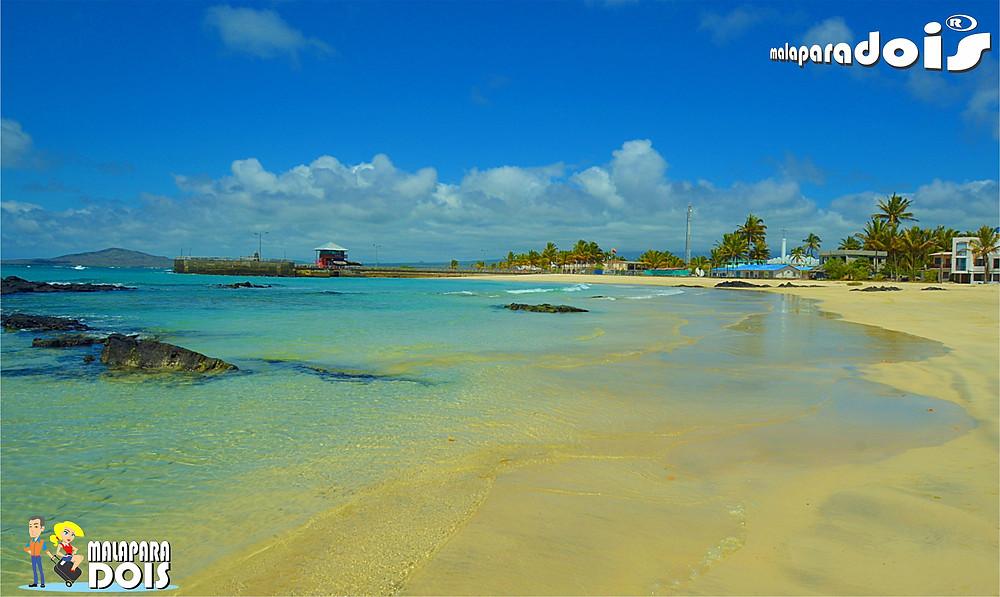 Praia de Puerto Villamil