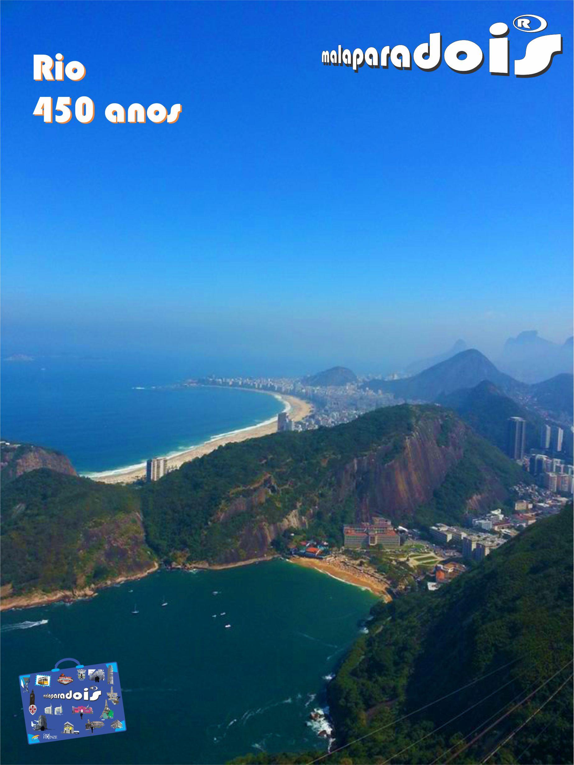 Rio450 - Praia Vermelha e Copacabana