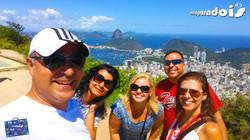 Edi, Nádia, Flávia, Paulo e Luciane