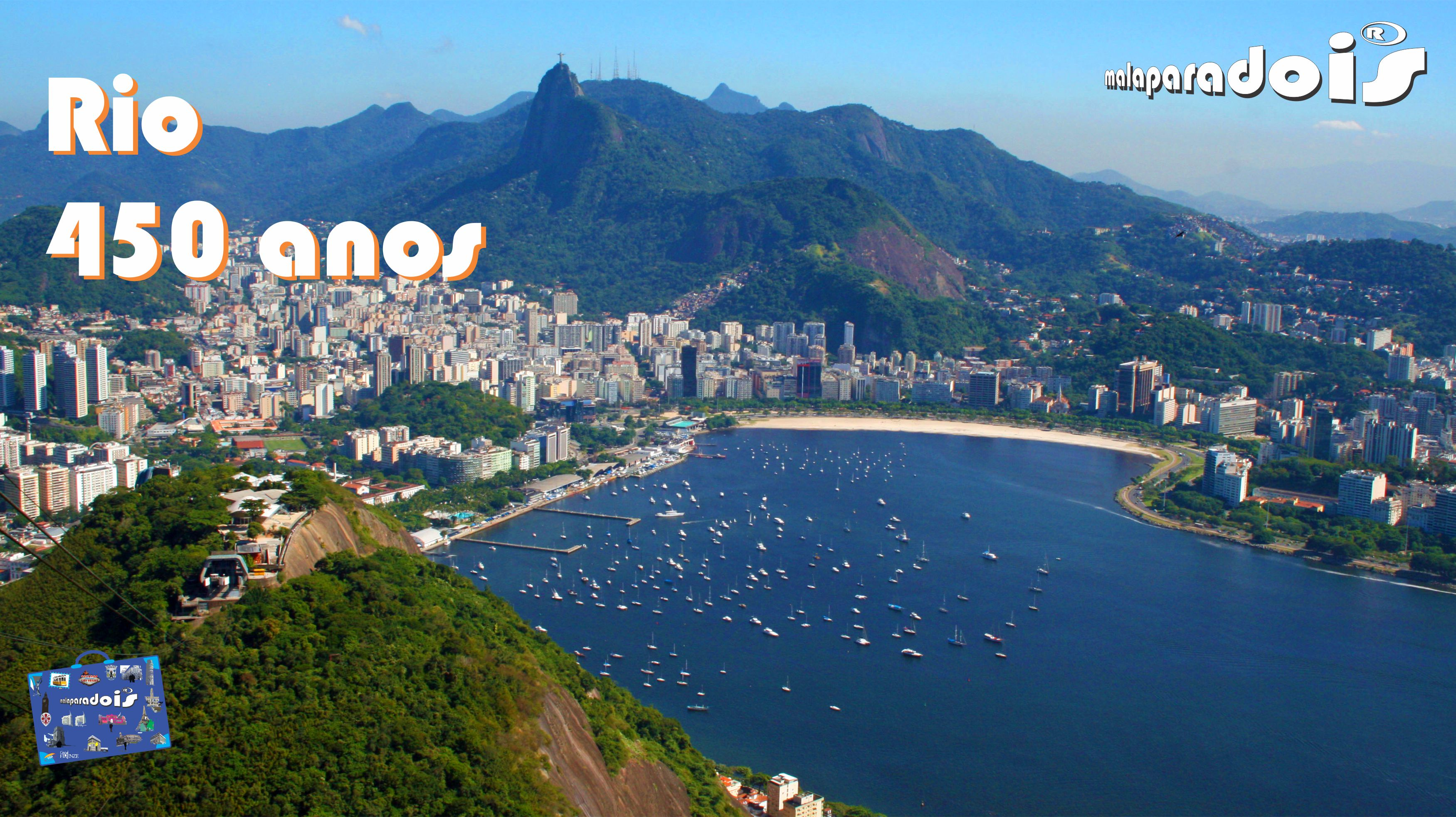 Rio450 - Enseada de Botafogo e Praia de Botafogo