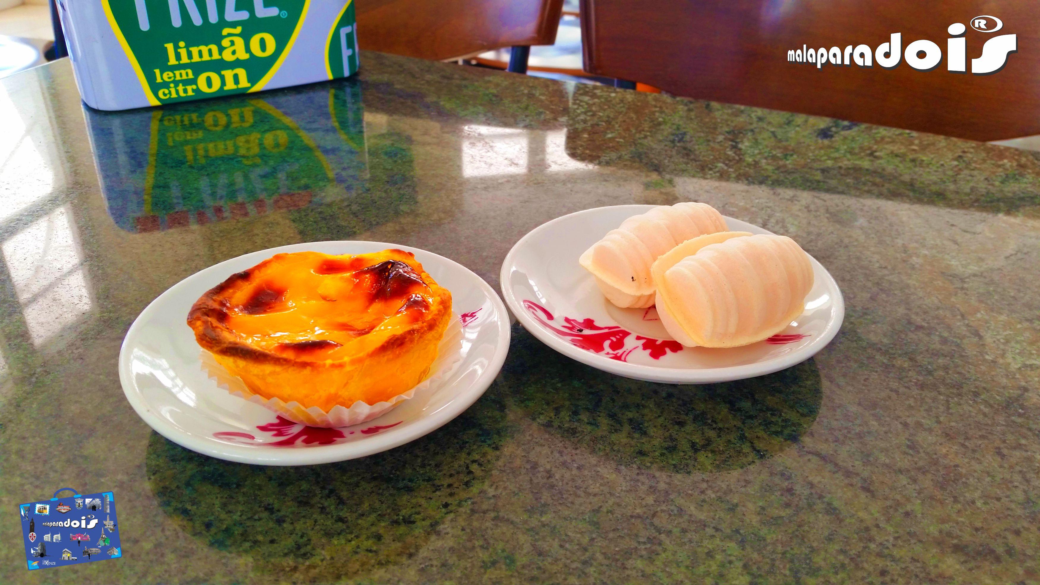 Pastel de nata e Ovos Moles de Aveiro