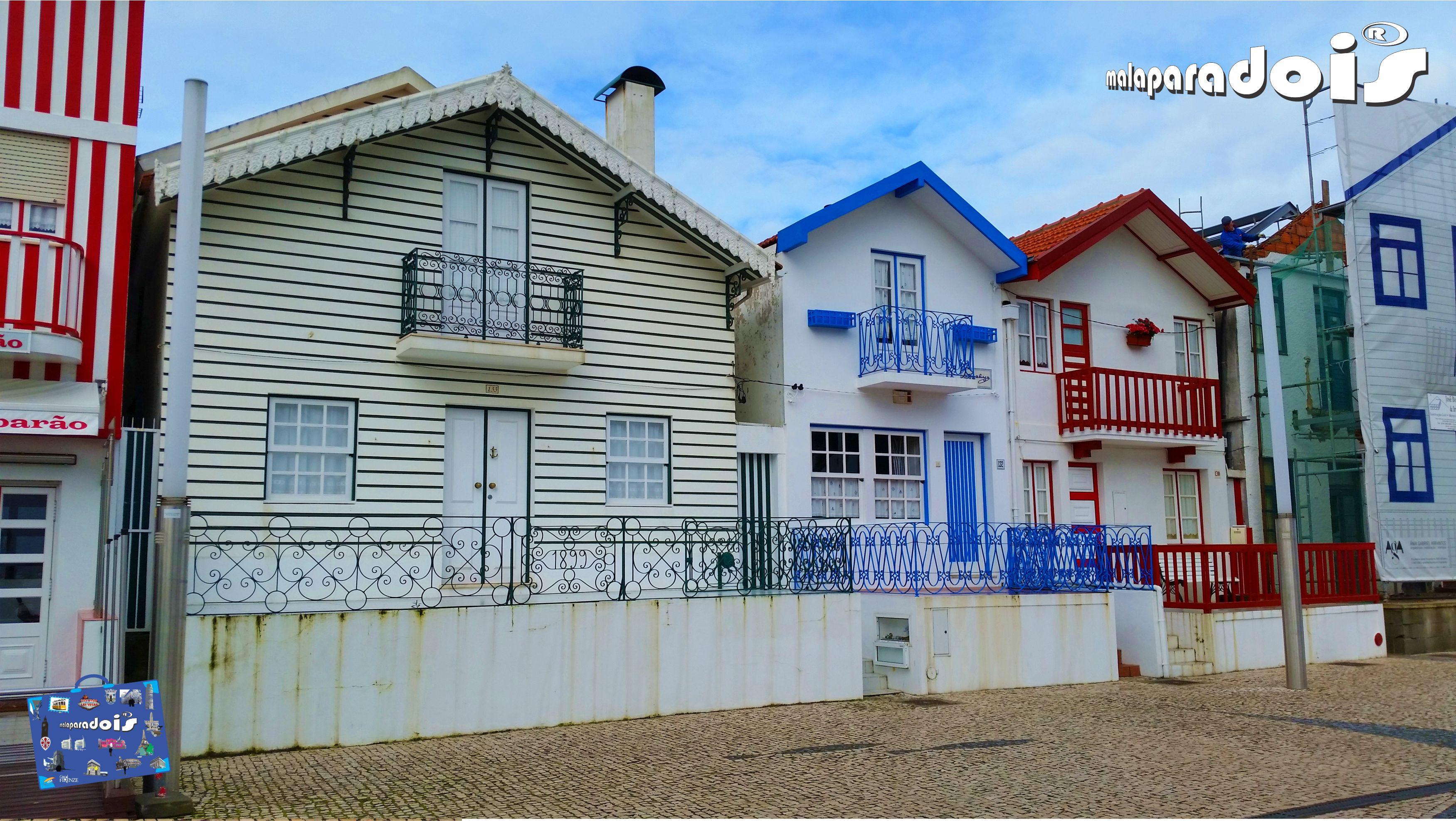 Casas coloridas - Costa Nova