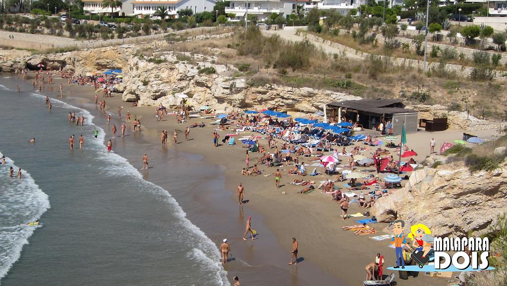 Playa de las Balmins (Sitges, Espanha)