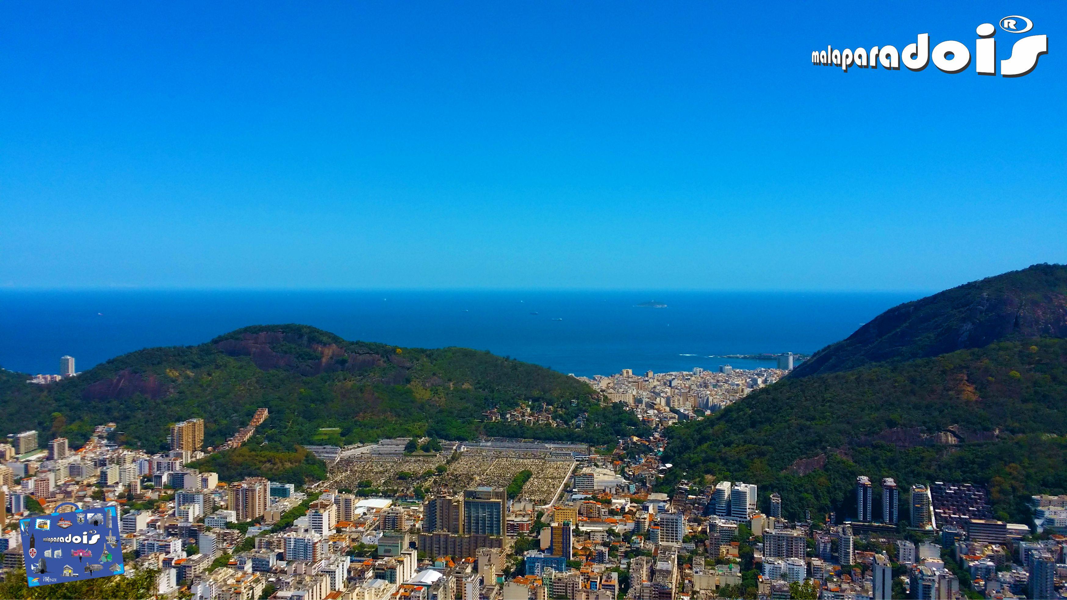 Copacabana ao Fundo