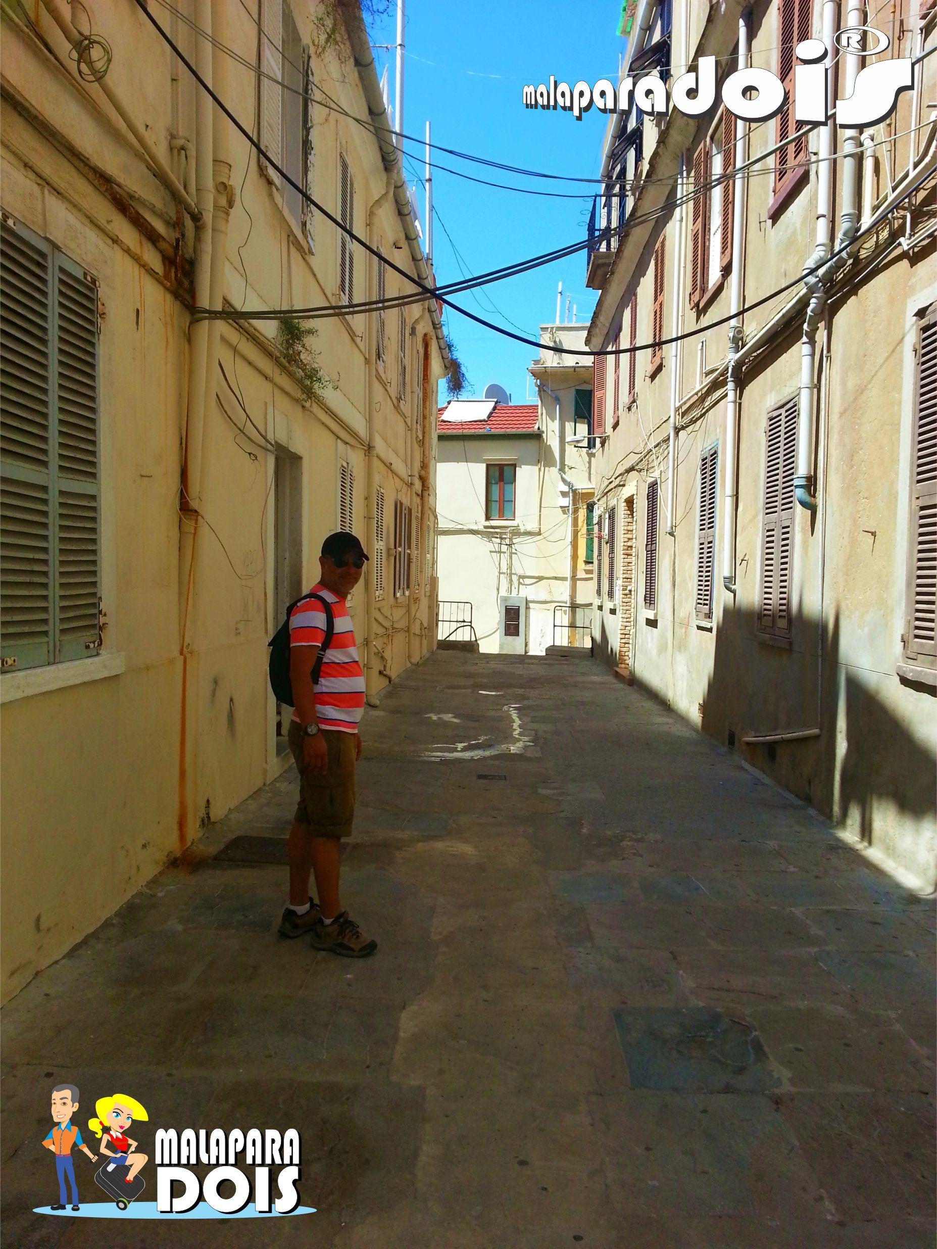 Pelas ruas de Gibraltar