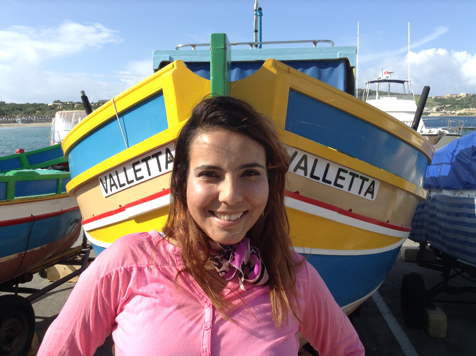 Uma brasileira em Malta