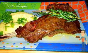 Chef Edi Marques - Costela bovina com papas