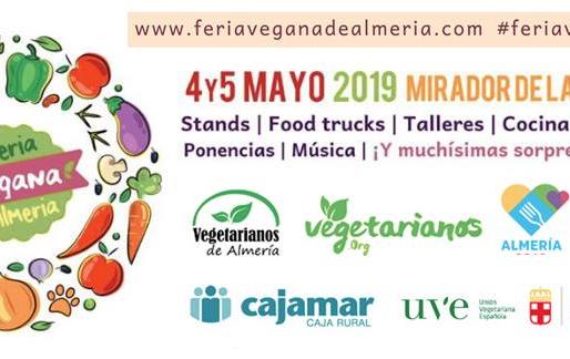 l Feria Vegana de Almería (4 y 5 de Mayo)