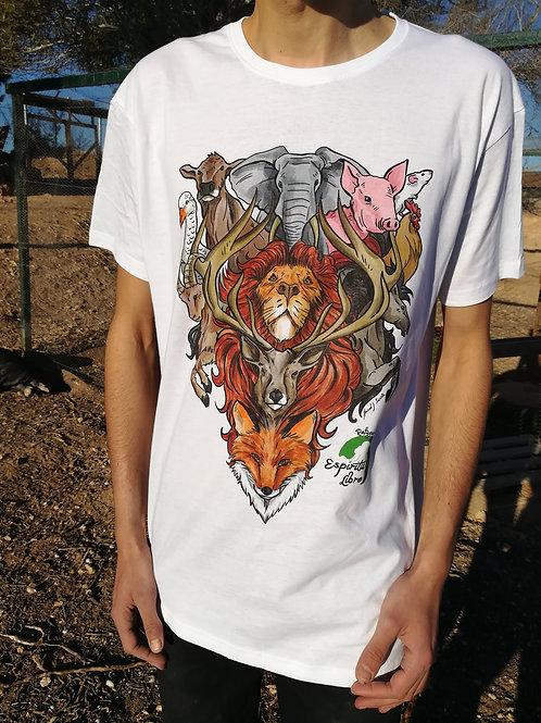 Copia de Camiseta VEGAN FORCE