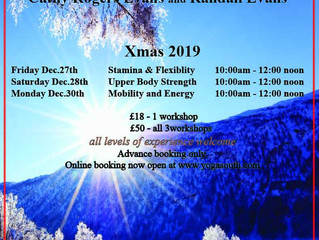Christmas 2019 Workshops