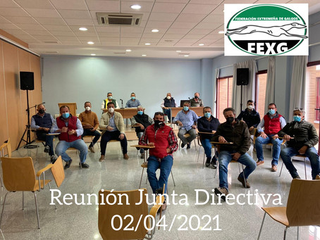 Primera reunión de la nueva Junta Directiva de FEXG